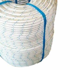 Corda de Segurança Nylon Poliamida Trançada 12mm Plasmódia