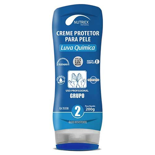 Creme protetor Luva Quimica Grupo2 Nutriex