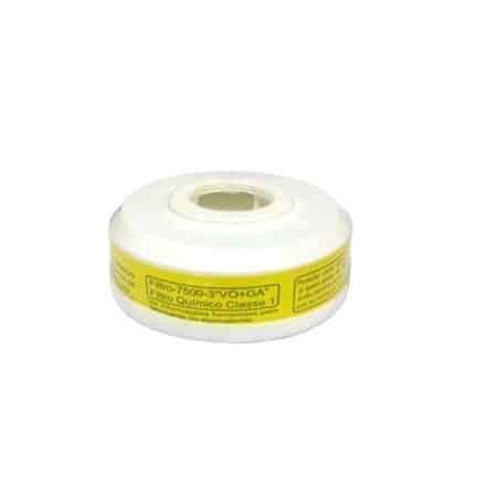 Cartucho Químico Plastcor Vapores Orgânicos e Ácidos VO + GA