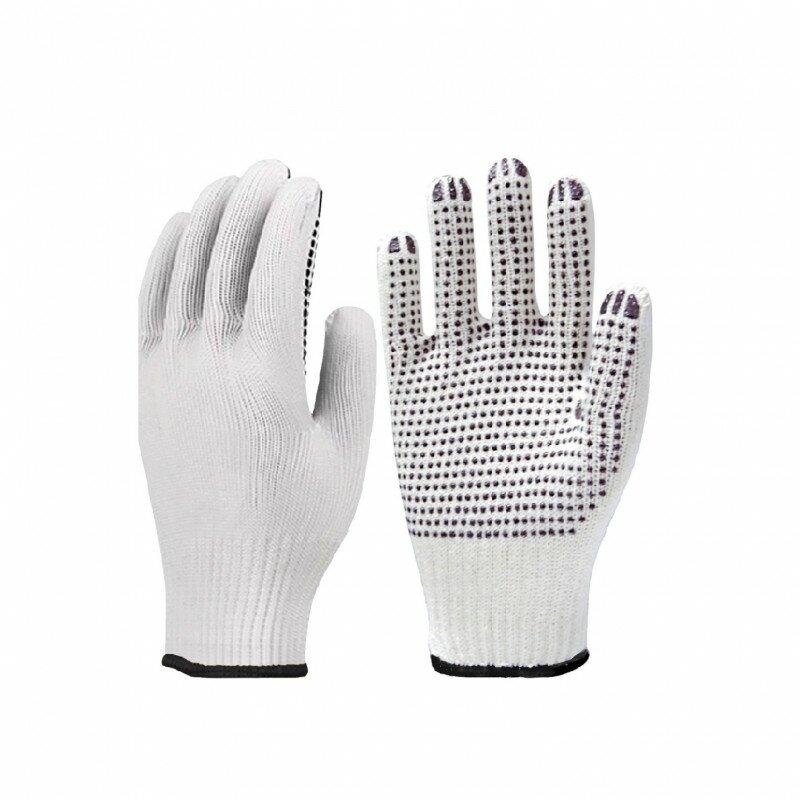 Luva Tricotada Pigmentada Branca Super Safety CA 33818