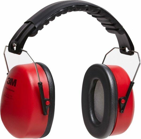 Protetor Auricular Abafador tipo Concha Pomp Muffler 3M CA 14235
