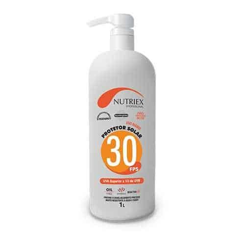 Protetor Solar FPS 30 1 Litros Nutirex