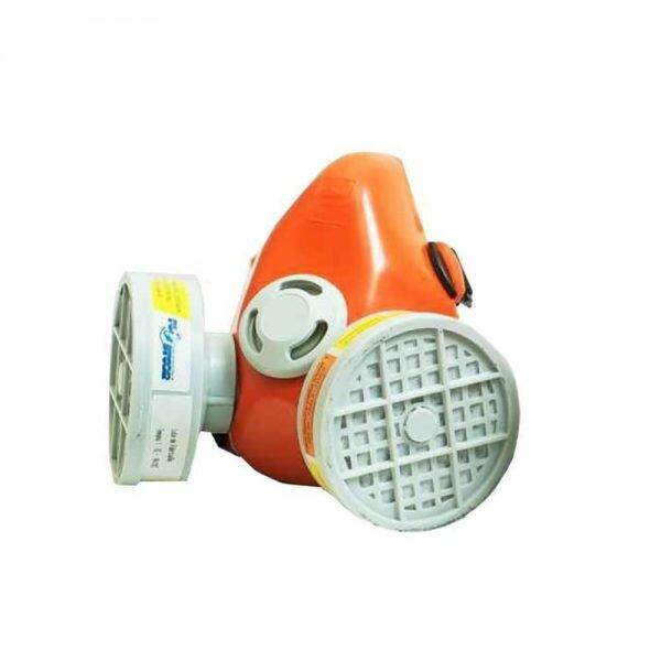 Respirador Semi Facial Para 2 Filtros Plastcor CA 34776