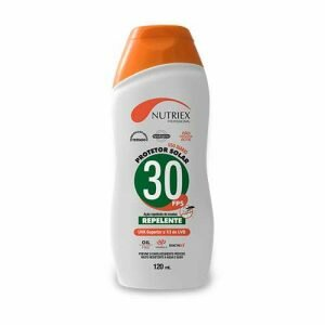 Protetor Solar FPS 30 com repelente 120ml Nutirex