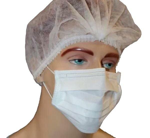 Mascara DescMascara Descartável Com Elásticoartavel Com Elastico e Clips Nasal Sky Descartáveis