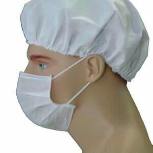 Mascara Descartavel Com Elastico e Clips Nasal Sky Descartáveis