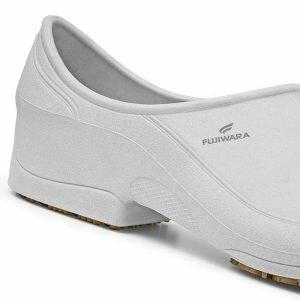 Sapato Ocupacional Antiderrapante Fujiwara Moov Branco