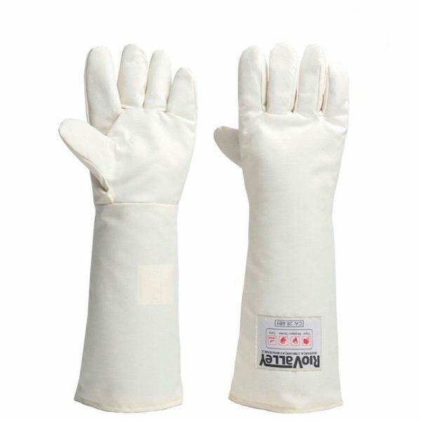Luva Térmica Mão de Gato Kombat Heat para alta tensão 45cm Rio Valley CA 28688