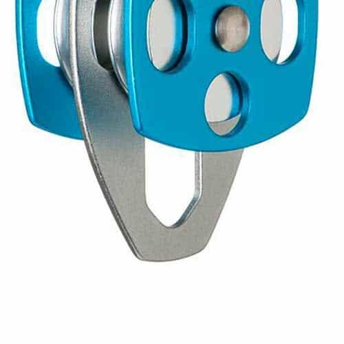 Polia Dupla de Alumínio com Placa Oscilante MG 2028A MG Cinto