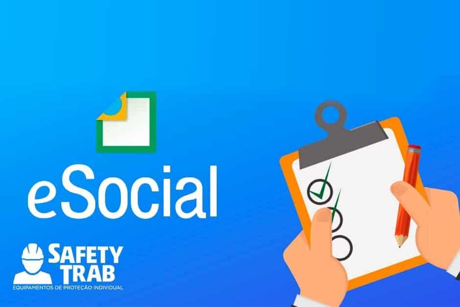 eSocial: Dados sobre segurança do trabalho