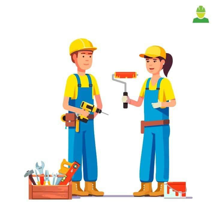 EPIs para construção civil