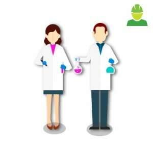 EPIs para laboratório