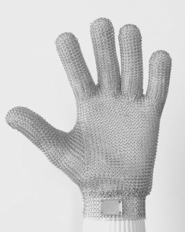 Luvas anticorte - malha de aço