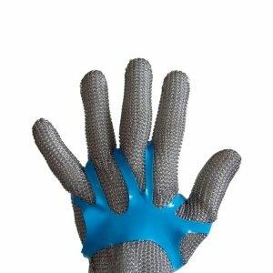 Ajustador para Luva de Aço Azul