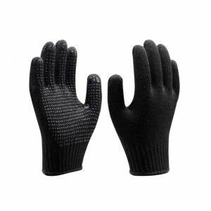 Luva Tricotada Pigmentada Preta Super Safety CA 33818
