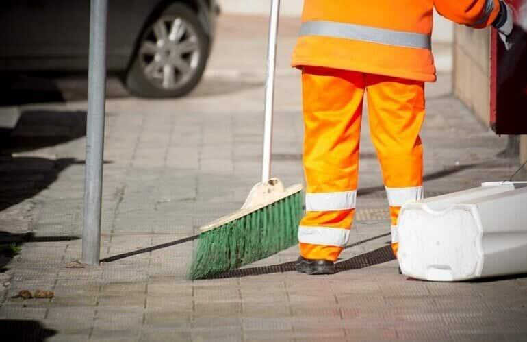 EPI para gari, coletor de lixo ou lixeiro