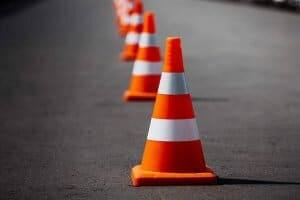 cone de transito