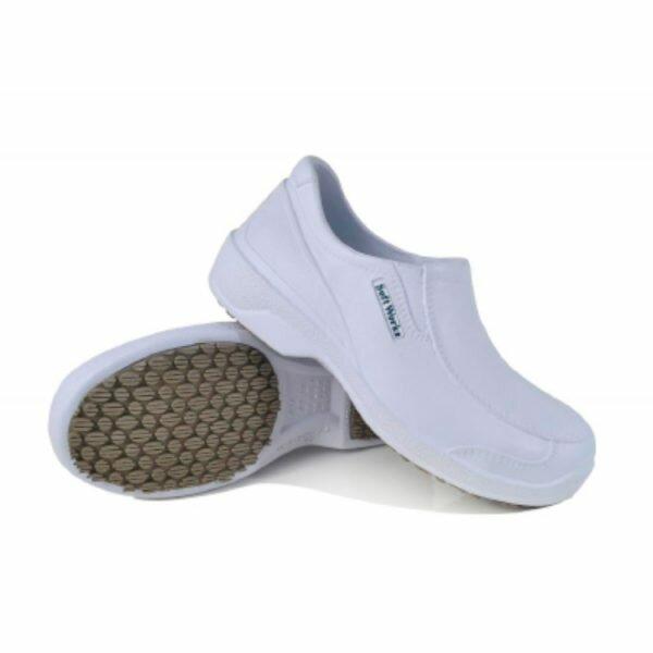 Sapato social s/ biqueira Branca BB66 SoftWorks