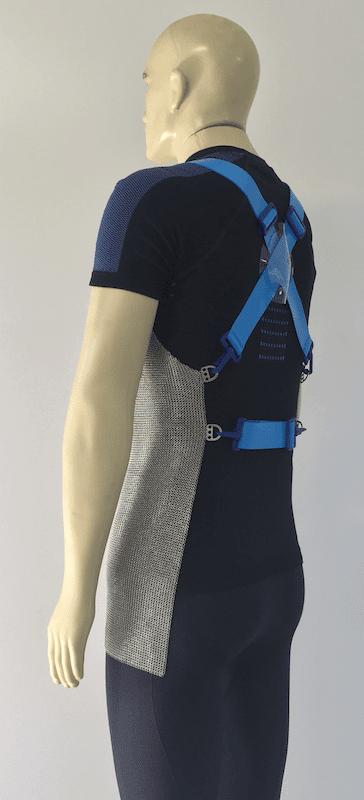 Avental de malha de aço