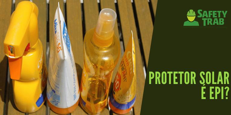 Protetor solar EPI