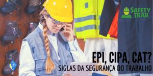 siglas da segurança do trabalh