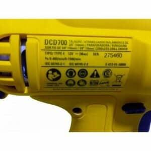 Furadeira e Parafusadeira à Bateria 12V DeWalt - DCD700LC1