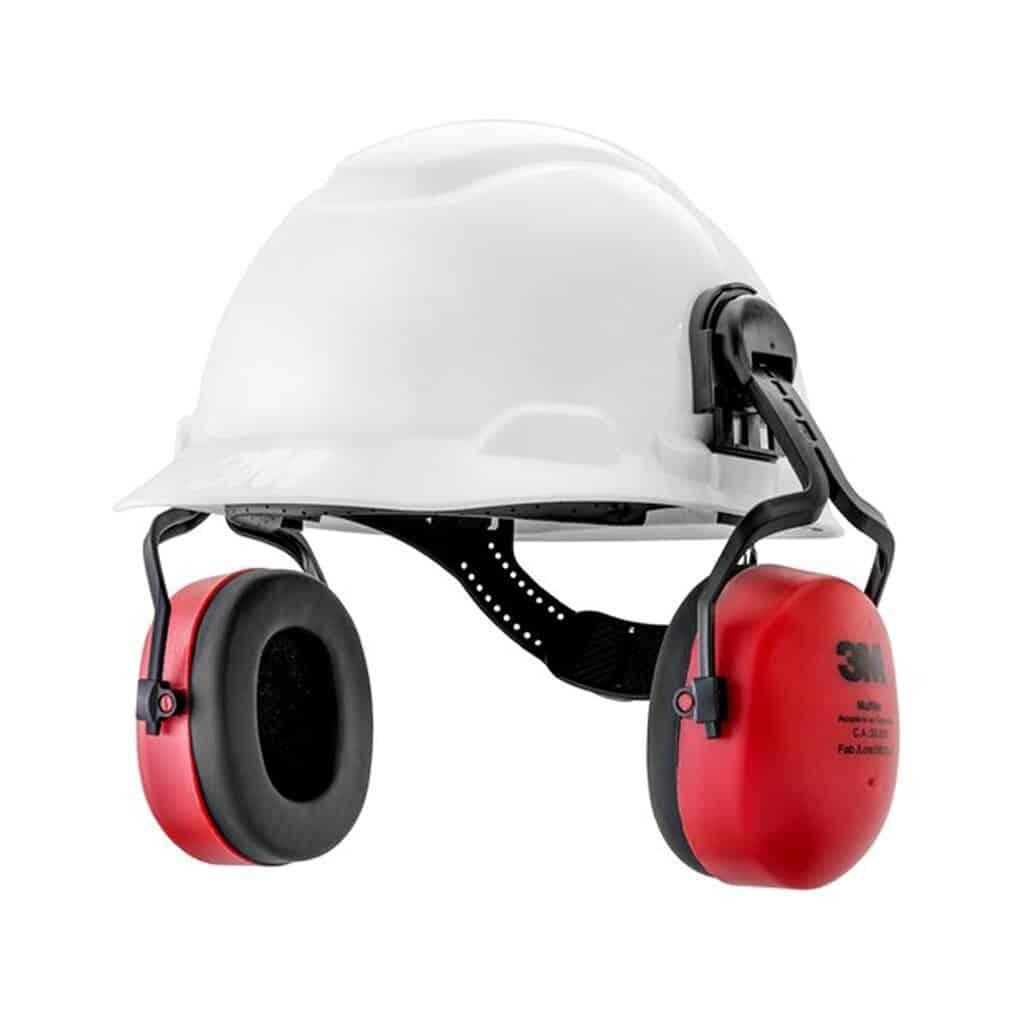 Protetor Auricular Abafador Muffler Acoplável Capacete 3M