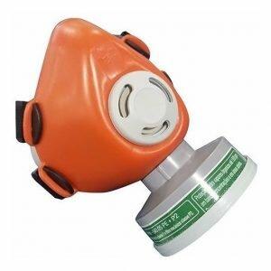 Respirador 1/4 facial + filtro mecânico P2