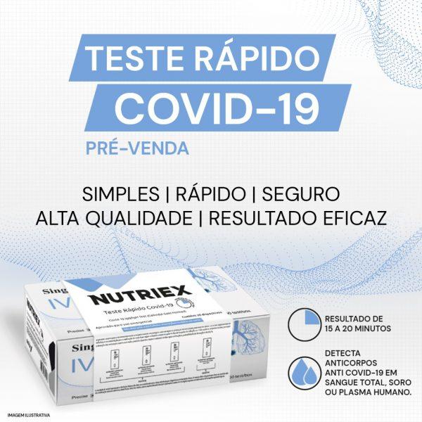 FICHA TÉCNICA DE PRODUTO - TESTE RÁPIDO COVID-19 15 MINUTOS NUTRIEX