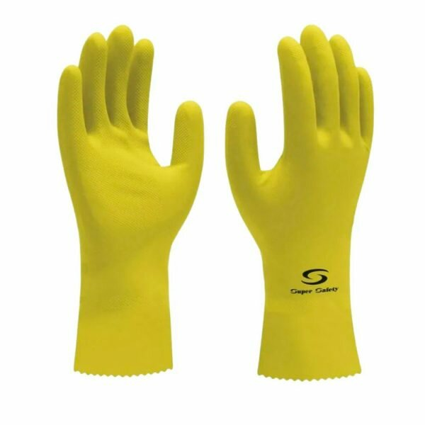 Luva de Latex Nitrilica Super Glove Super Safety CA 33326