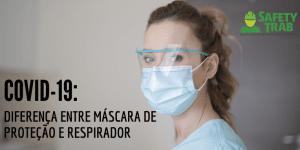 Máscara de proteção e respirador