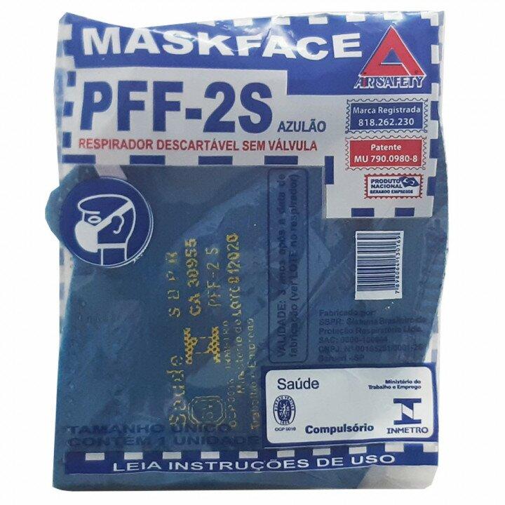 Mascara-Respiratória-Descartável-Mask-Face-PFF-2S-Air-Safety-CA-38955