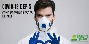 Lesões de pele EPIs