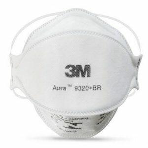 Máscara Respirador Descartável 3M™ Aura 9320+BR