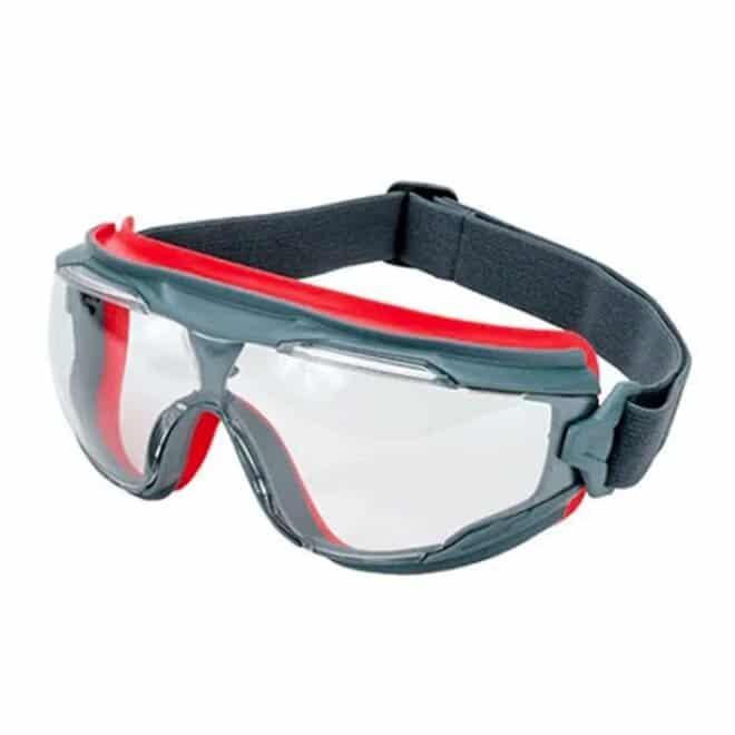 Óculos de Segurança Ampla Visão GG500 GoggleGear Com Clipe de Lente 3M CA 37640
