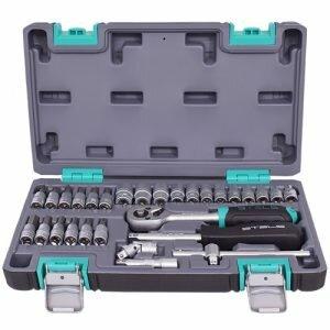 Kit de Ferramentas 1 4 CrV Caixa Plástica 29 Peças STELS 1410055