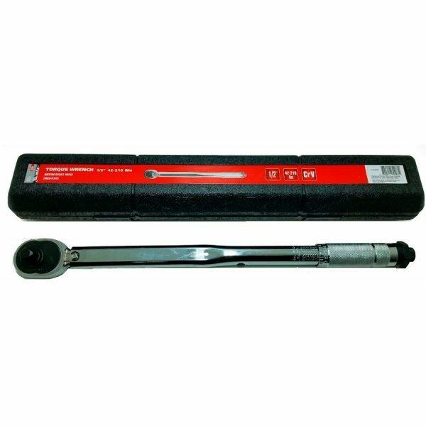 Torquímetro De Estalo 28 - 210 Nm Com Encaixe De 1/2 Pol Mtx-141609