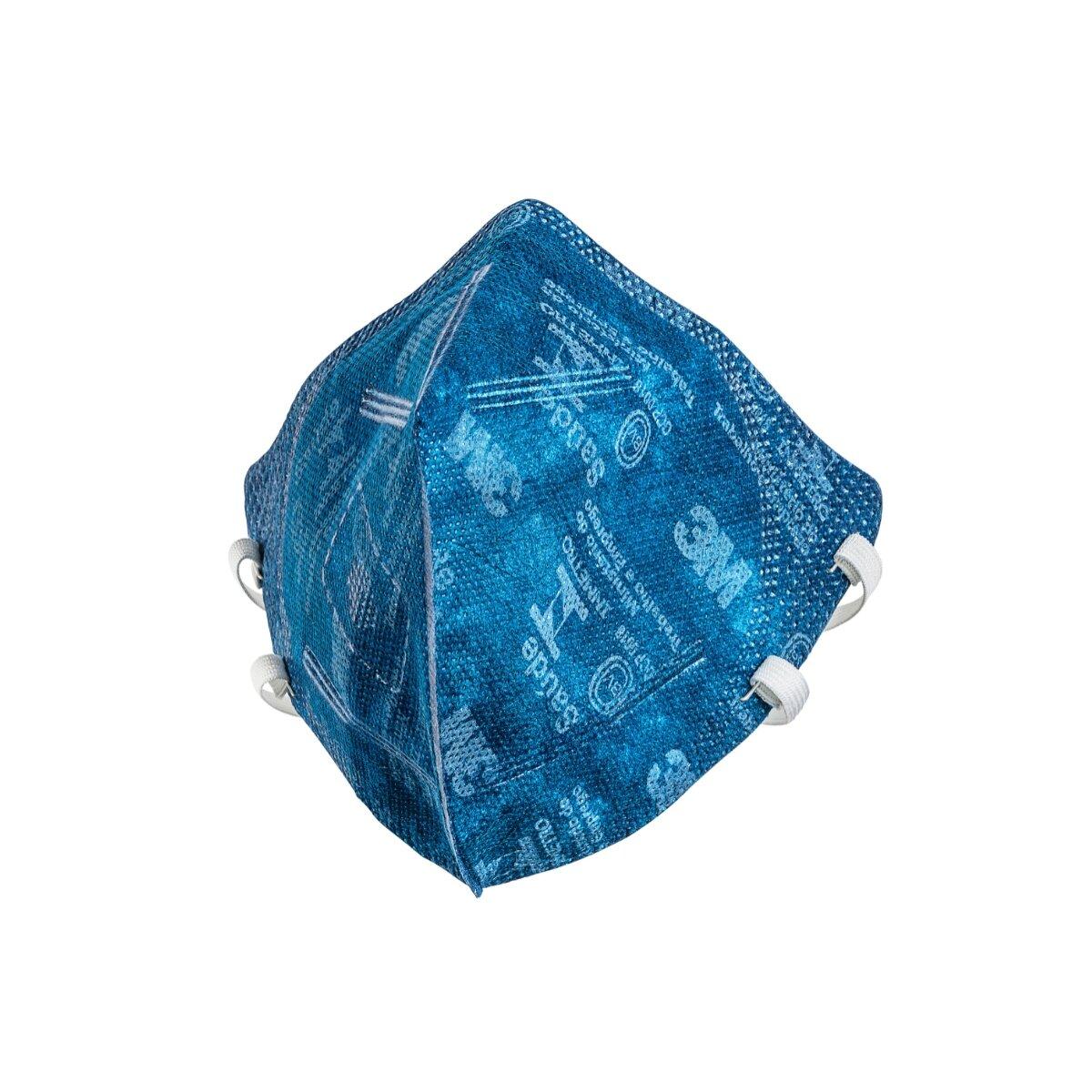 Respirador 3M 9820 BR Dobrável PFF2 Sem Válvula CA 41514