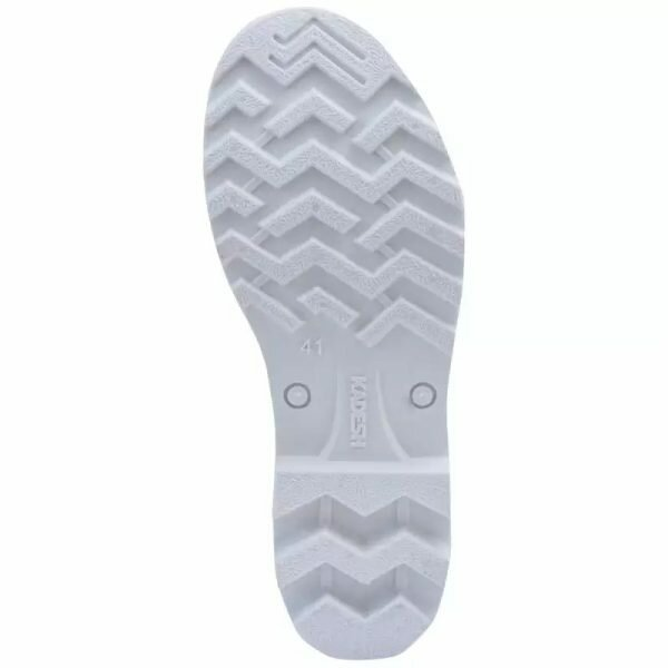 Bota de PVC Cano Médio Branca Safety Boots Kadesh CA 42149