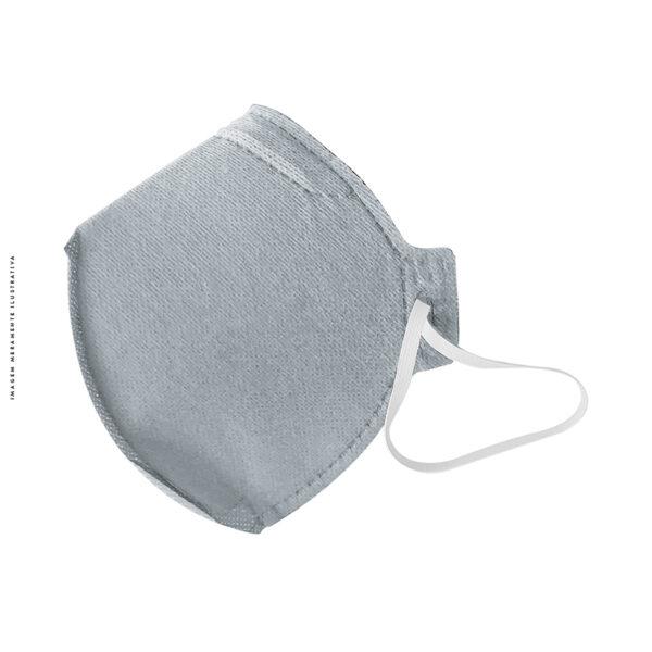 Respirador PFF2 S Cinza Virucida Alltec CA 44305
