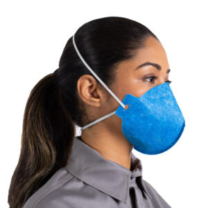 Respirador PFF2 S sem válvula Ledan CA 11993