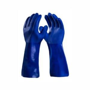 Luva de Segurança Super PVC Azul Super Safety CA 36581