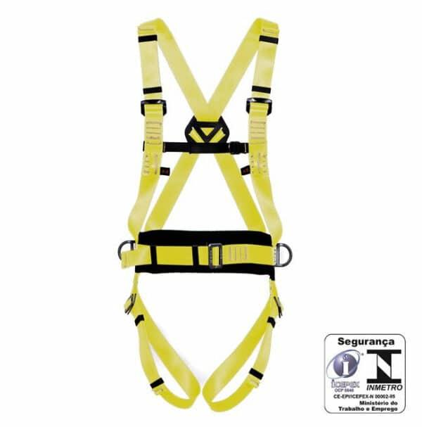 Cinturão Paraquedista Ativ. Maçarico e Solda 4 pontos MULT 1234 MG Cinto