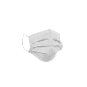Máscara Descartável Tripla com Elástico e Clips Nasal Grandesc - 50 unid.